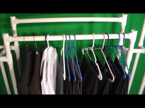 How to make a PVC Clothes stand part 1