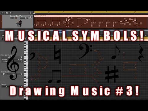 MUSICAL SYMBOLS! | Drawing Music #3!
