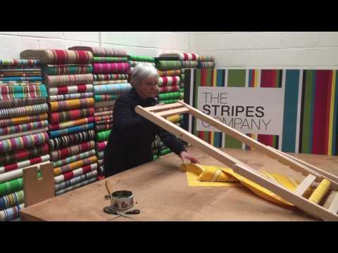 How to recover a Deckchair with Maria from The Stripes Company