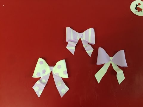 Quick & easy to make edible bow