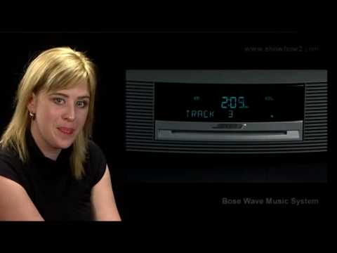 How to set an Alarm in Bose Wave Music System