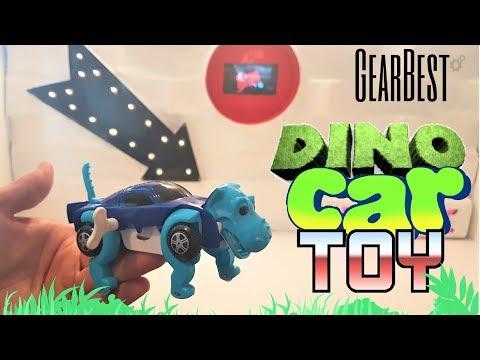 CLOCKWORK  WIND UP DINO CAR TOY - GEARBEST