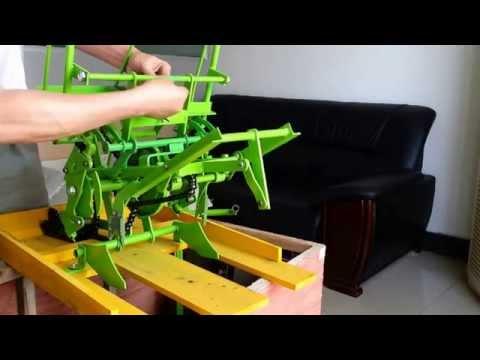 Alat Tanam Padi Manual/Manual Rice Transplanter