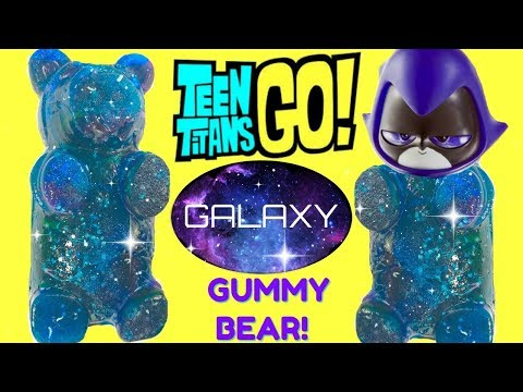 Finding a Teen Titans Go Raven Galaxy Gummy Bear & Imaginext Tower