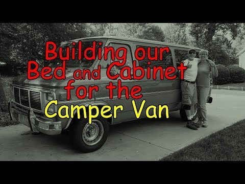 Building our Bed & Cabinet for the Camper Van