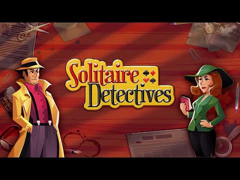 Solitaire Detectives - Mystery and Card Game for iPhone and Android