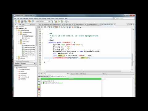 Working with JUNIT in NetBeans