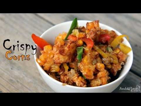 Corn Fritters Recipe | Indian Evening Tea Snacks, Appetizers Recipes & Kids Snacks Ideas by Shilpi