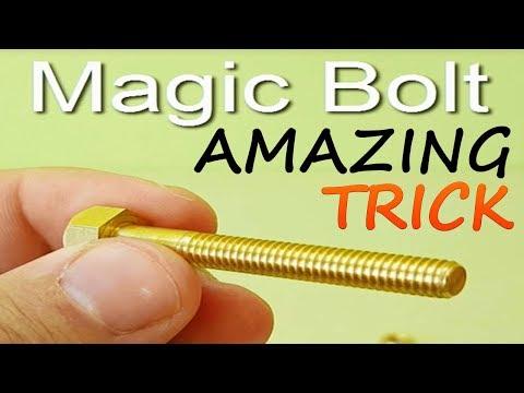 MAGIC TRICKS WITH BOLT AND TRICK SECRET| MAGIC TRICKS REVEALED