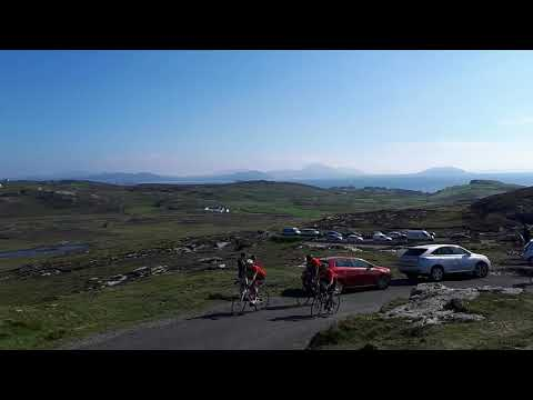 Annagh Wheelers completing their 2018 Mizen to Malin challenge