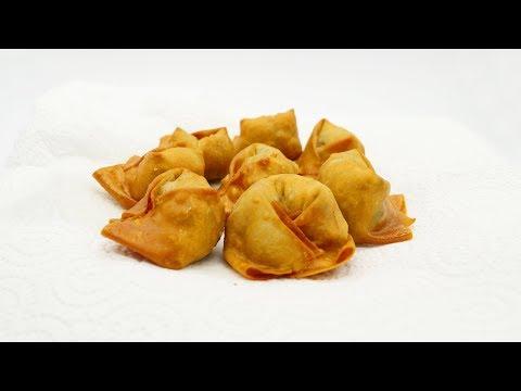 Szechuan deep-fried wontons authentic Sichuan/Szechuan food recipe #41 炸响铃