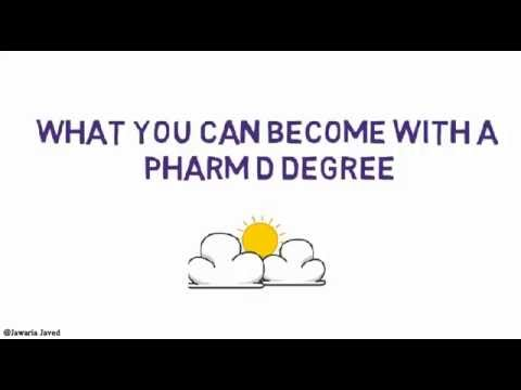 what you can become after you have a pharm d degree