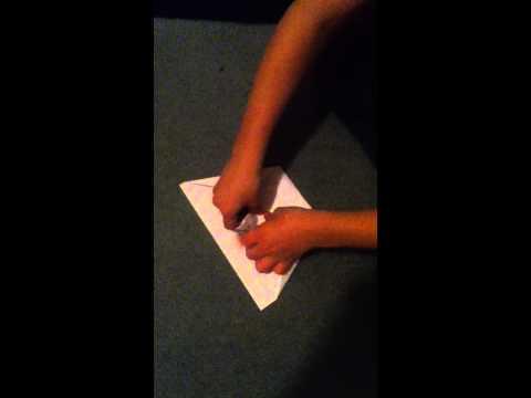 How to make a custom paper airplane