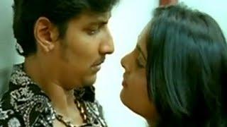Jeeva mistaken for his brother | Simham Puli Movie Scenes | Santhanam | Divya Spandana | Honey Rose