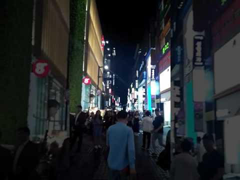 Myeongdong shopping street😎😆