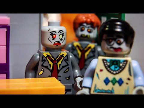 Lego Zombie attack survival Part 5 - stop motion