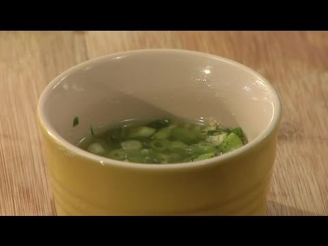 Chinese Scallion & Ginger Oil Sauce Recipe : Veggie Stir-Fry Recipes & More