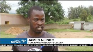 Mbombela residents demand a sewer system infrastructure
