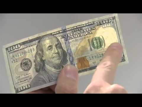 Beaumont police educate on how to spot a counterfeit bill.