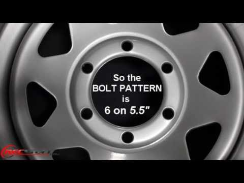 How To Measure The Bolt Pattern Of A 6-Lug Wheel