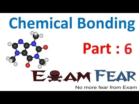 Chemistry Chemical Bonding part 6 (Steps to write Lewis dot structure) CBSE class 11 XI