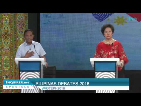 Binay: What political dynasty? Santiago: It's in the Constitution