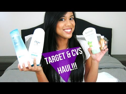 Target and CVS Haul | Bath/Beauty Essentials and More! | NICOLEPATROL
