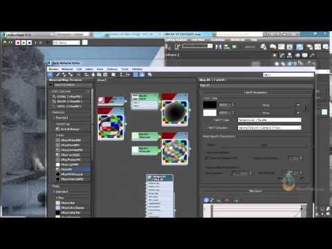 Thực hành 3ds Max - Bài 76 Hoàn thiện vật liệu nhôm trong 3Dsmax
