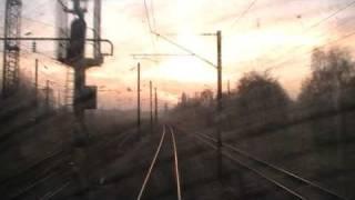 Voyage en cabine à bord du TER Comines - Lille