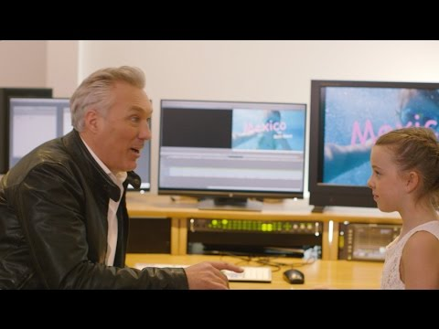 Behind the scenes: When Martin Kemp surprised schoolgirl Beth Ward with moviemaking masterclass