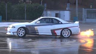 Donuts & Figure Eight at Drift Matsuri - Turbo GT86, Skyline R33, JZX100, S15 & More!