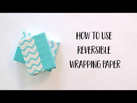 Reversible Wrapping Paper Techniques: Double the Fun (Short Version)