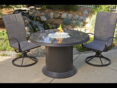 Magnificent Fire Pit Dining Table