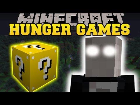 Minecraft: SLENDER HUNGER GAMES - Lucky Block Mod - Modded Mini-Game