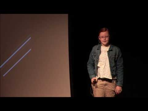Be Brave! On overcoming a childhood stutter. | Hannah Kennedy | TEDxYouth@Columbus