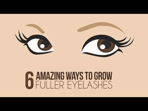6 Ways To Naturally Grow Longer Eyelashes - Glamrs