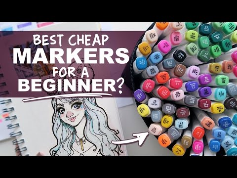 Ohuhu Markers Review, 80 Marker Set | Best Cheap Markers for a Beginner ?