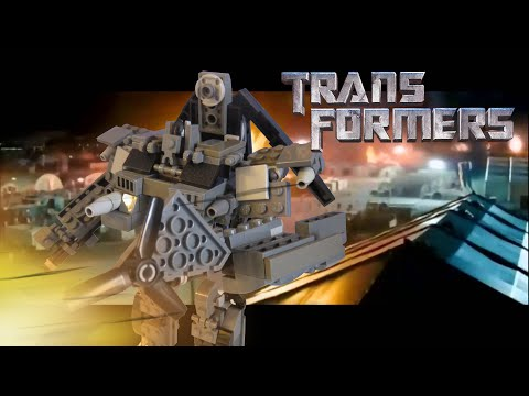 Lego Transformers 2007- Blackout