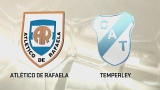 Fútbol en vivo. Rafaela vs. Temperley. Fecha 2. Torneo de Primera División 2016/2017. FPT