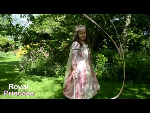Royal Princess Dress - Hooped Gown Costume at Gifts For A Girl