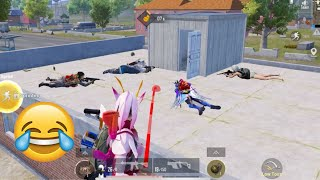 Trolling Cute Noobs 🤣😝   PUBG MOBILE FUNNY MOMENTS
