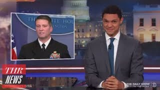 Trump's Physical Exam Mocked by Late-Night Hosts | THR News