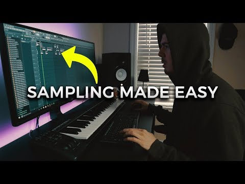MY TRICKS HOW TO SAMPLE | Making a Beat FL Studio