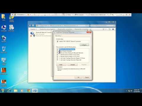 Windows 7 : Configure Automatic IP Address on PC