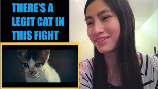 REACTION TO Bruce Lee Vs. Chuck Norris (Full Fight)