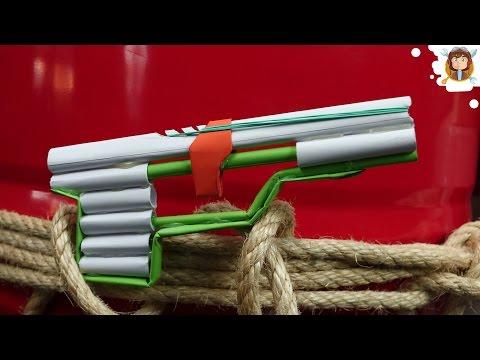 How to Make a Pistol - (Paper Gun)