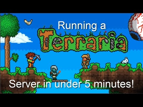 HowTo: Create & Install Terraria (t-shock) Server in 5 minutes!