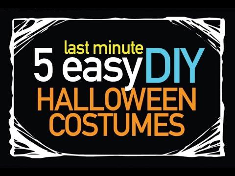 5 Cheap, DIY Halloween Costumes