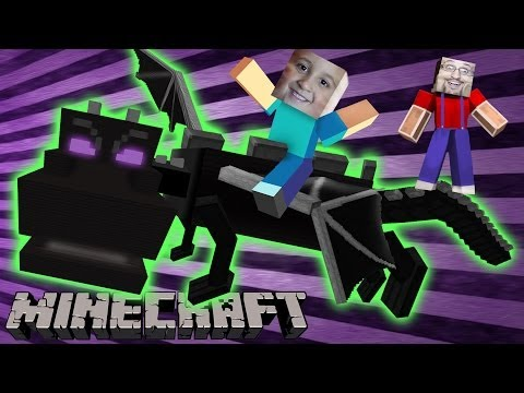 MINECRAFT: Mike Battles the Ender Dragon who Bothers Us Nether Ever Again! TNTEACE