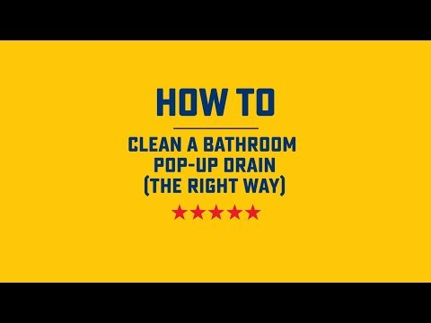 How to Clean a Bathroom Pop-Up Drain | Roto-Rooter